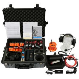 Delsar LD3 6 Sensor Seismic/Acoustic Listening System w/ Delsar Victim Simulator