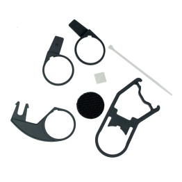 HS cable mounting kit for Gallet helmets