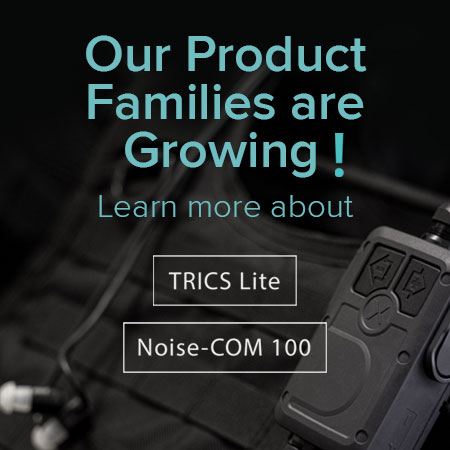 Product Launch TRICS Lite and Noise-COM 100
